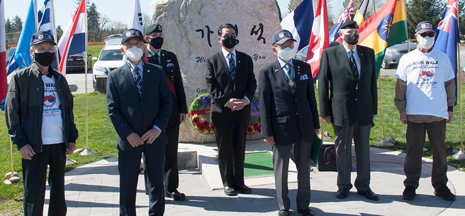 가평전 역사적 중요성과 캐나다군의 숭고한 희생 기리다