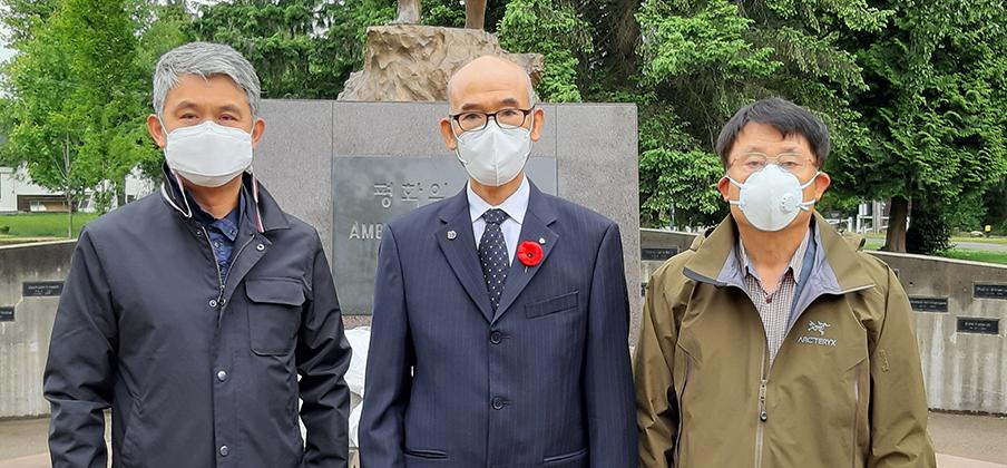 한인회, 66주년 현충일 추념식 거행