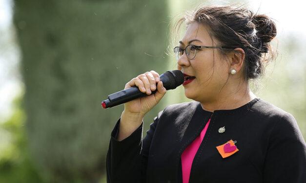 넬리 신 의원, 인종차별 반대 목소리 높여