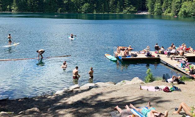 캣 레이크 캠핑장(Cat Lake)에서 보내는 힐링캠프